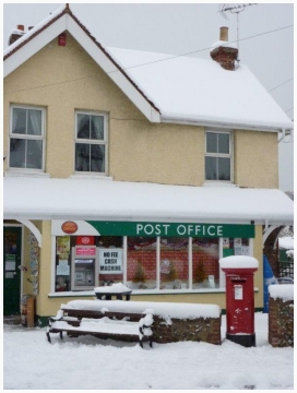 Post Office in snow